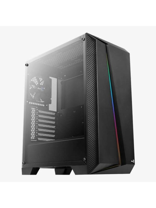 Image of   AeroCool Cylon Pro TG - Black - Kabinet - Miditower - Sort