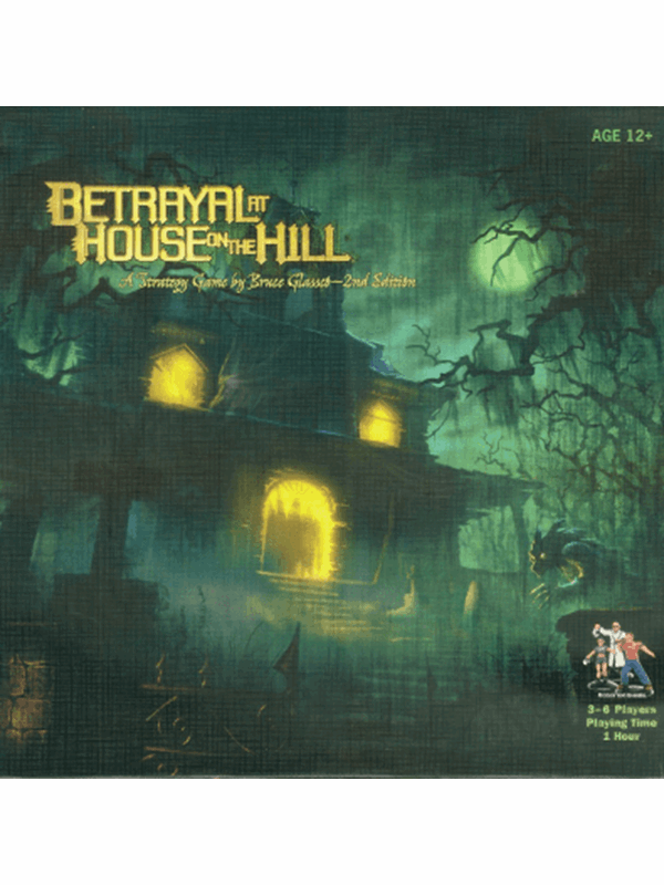 Image of   Asmodee Betrayal at House on the Hill 2nd Ed. (ENG)