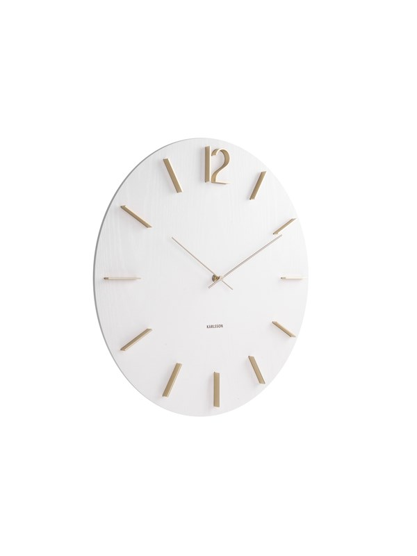 Image of   Columbine Wall clock Meek MDF