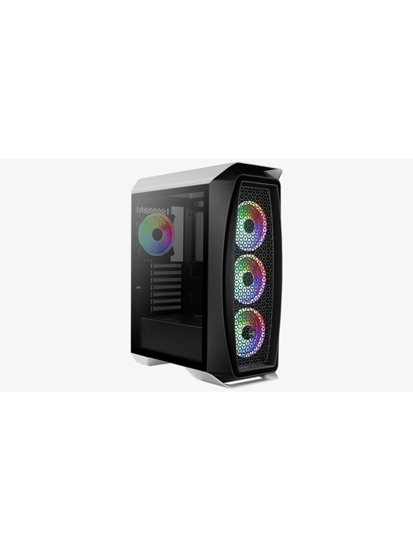 Image of   AeroCool Aero One Duo - White - Kabinet - Miditower - Hvid