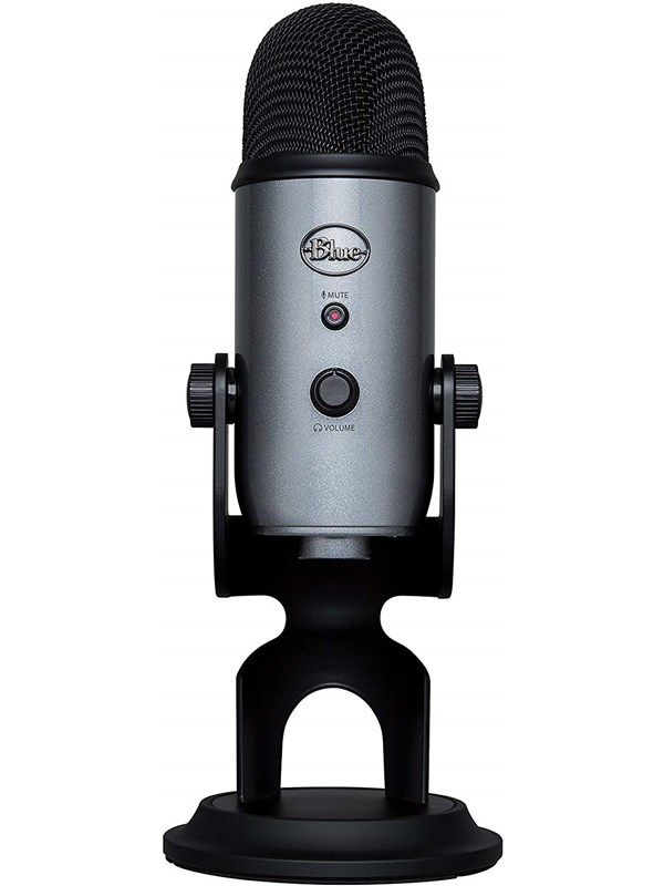 Image of   Blue Mic Yeti USB - Lunar Grey