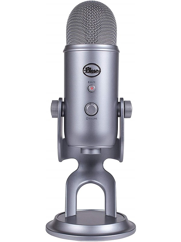 Image of   Blue Mic Yeti USB - Cool Grey