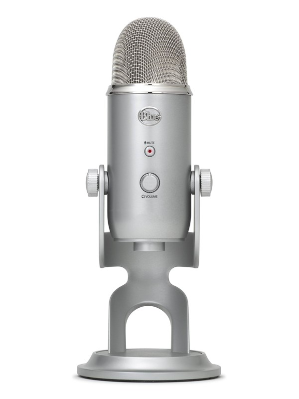 Image of   Blue Mic Yeti USB - Silver