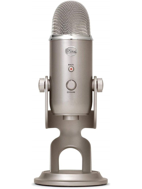 Image of   Blue Mic Yeti USB - Platinum