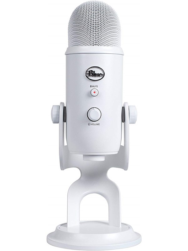 Image of   Blue Mic Yeti USB - Whiteout