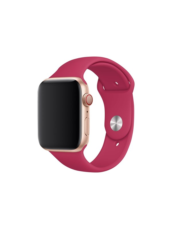 Image of   Apple Band 44mm Pomegranate Sport - S/M & M/L