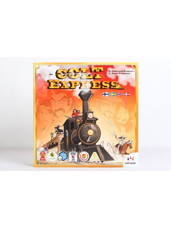 Image of   Asmodee Colt Express Nordic