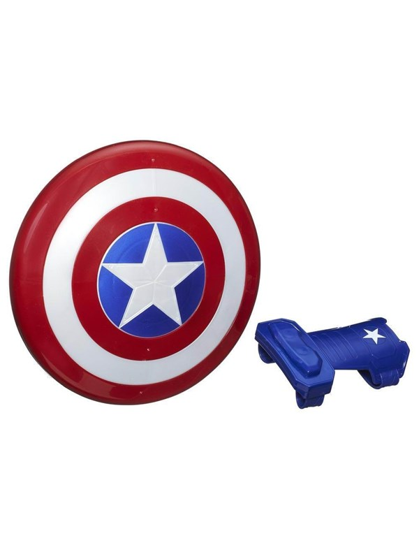Image of   Hasbro Avengers Captain America Magnetic Shield & Gauntlet
