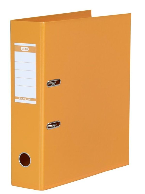 Image of   ELBA Strong-Line Brevordner Orange A4 8 Cm