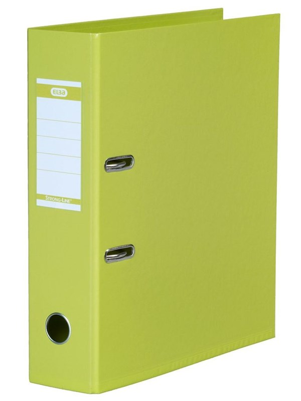 Image of   ELBA Strong-Line Brevordner Lime A4 8 Cm