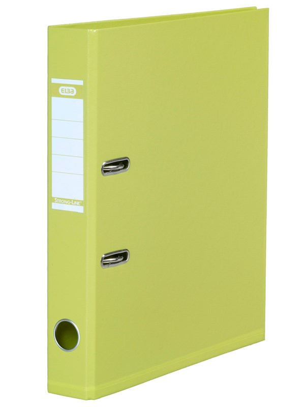 Image of   ELBA Strong-Line Brevordner Lime A4 5 Cm