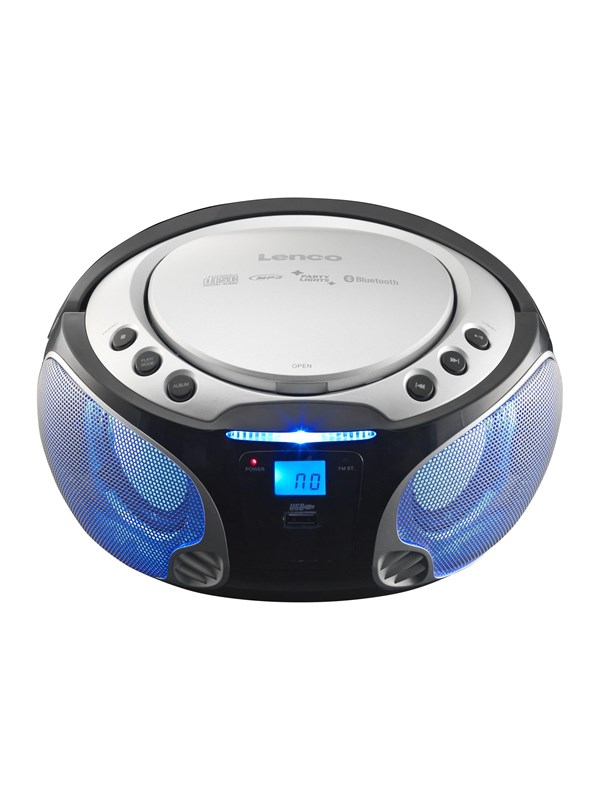 Image of   Lenco SCD-550 - boombox - CD USB-host Bluetooth
