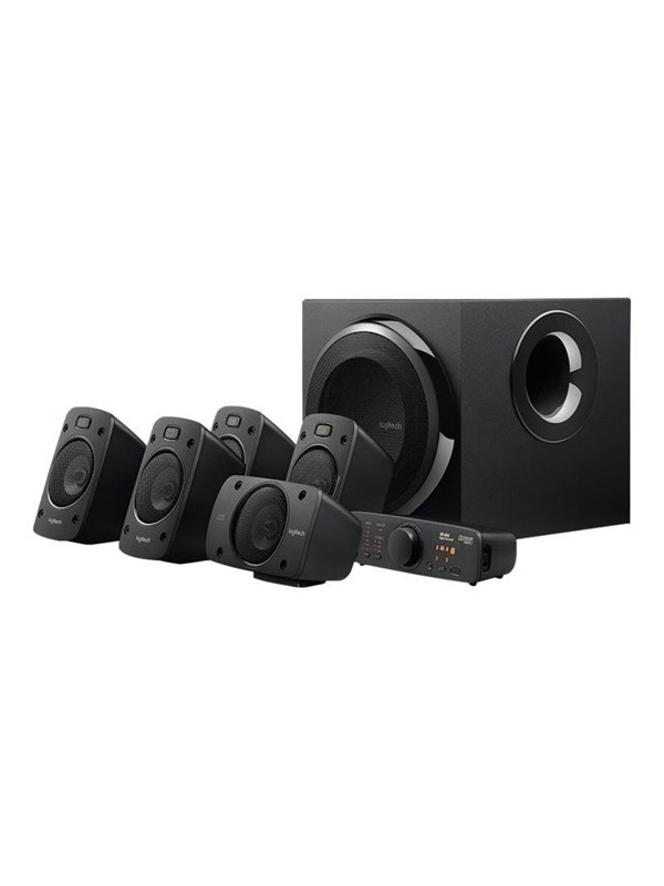 Image of   Logitech Z-906 - speaker system - for home theatre