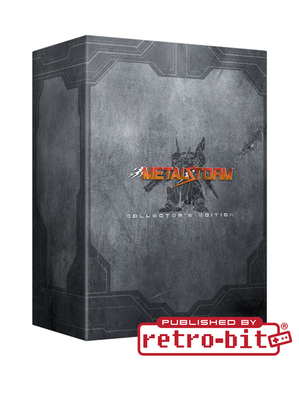 Image of   Retro-bit Metal Storm Collector's Edition