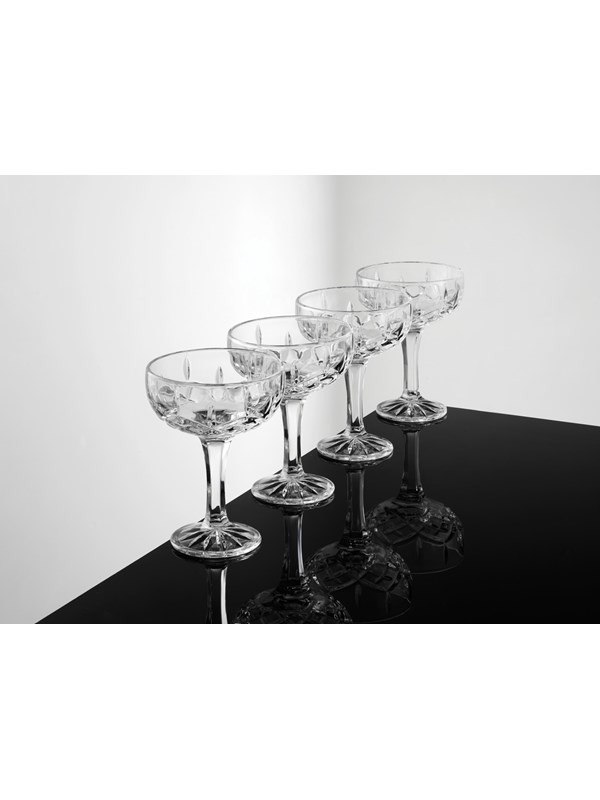 Image of   aida Harvey champagne glas 4 stk