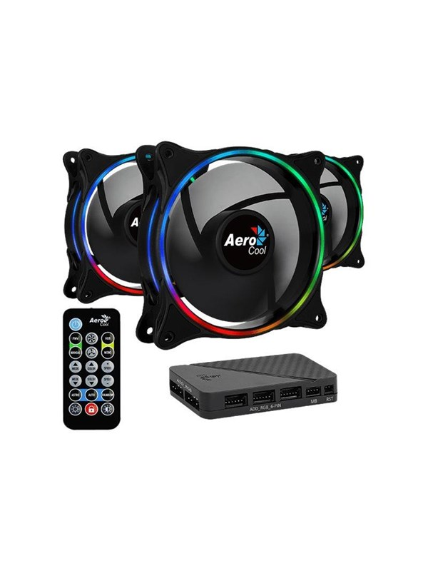 Image of   AeroCool Eclipse 12 Pro system cabinet fan kit