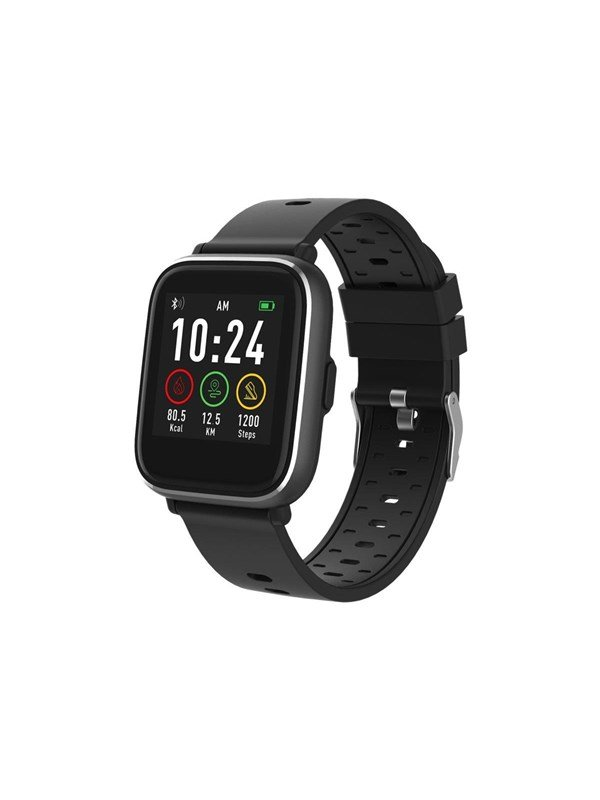 Image of   DENVER SW-161 - black - smart watch with band - black