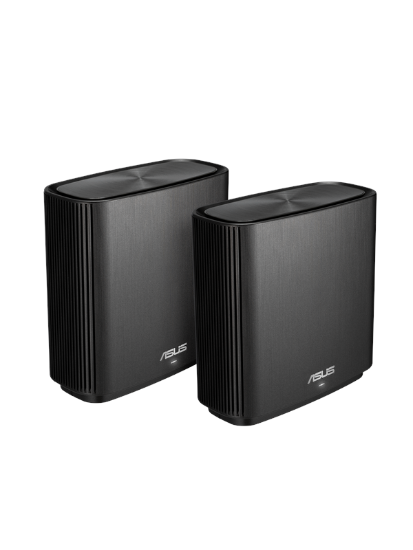 Image of   ASUS ZenWiFi CT8 AC3000 Black (2-pack) - Mesh router AC Standard - 802.11ac