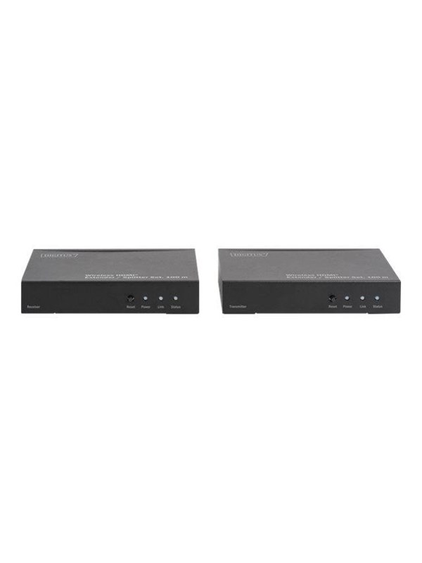 Image of   ASSMANN DS-55314 - HDMI Extender / Splitter Set - wireless video/audio/infrared extender