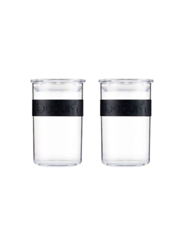 Image of   BODUM PRESSO - storage jar - 0.6 l - 2 pcs