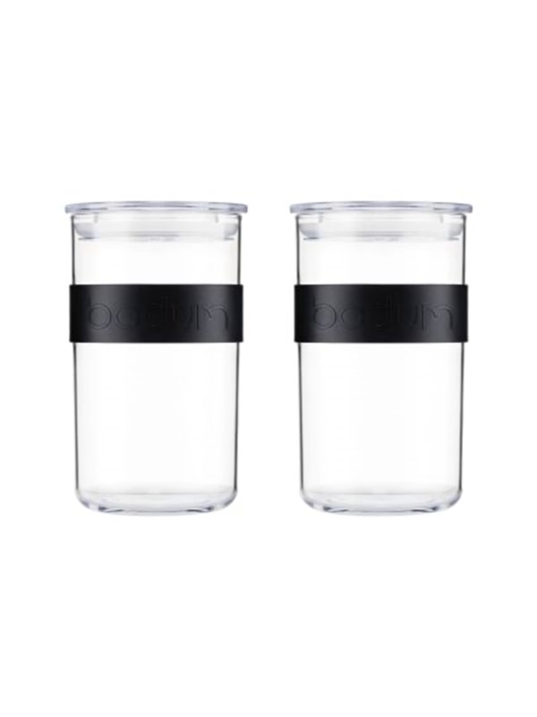Image of   BODUM PRESSO storage jar - 1.0 l - 2 pcs