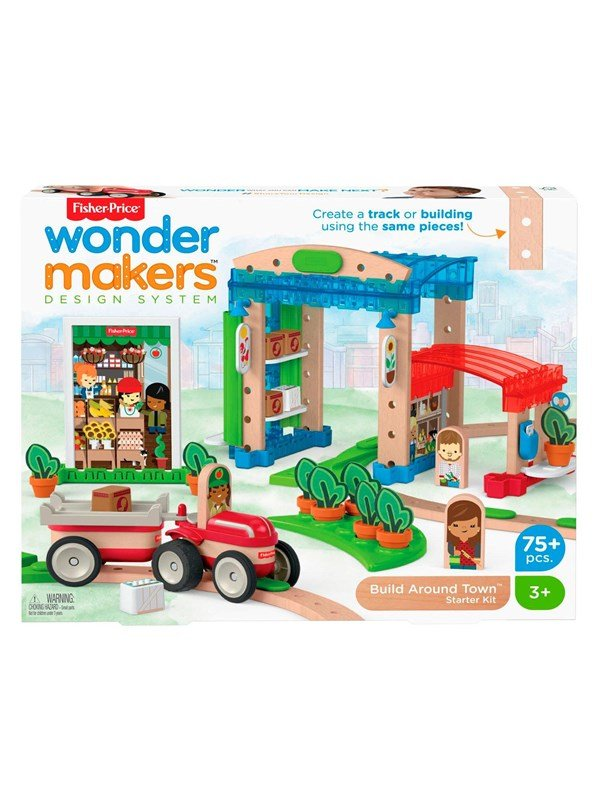 Image of   Fisher Price Wonder Makers - City