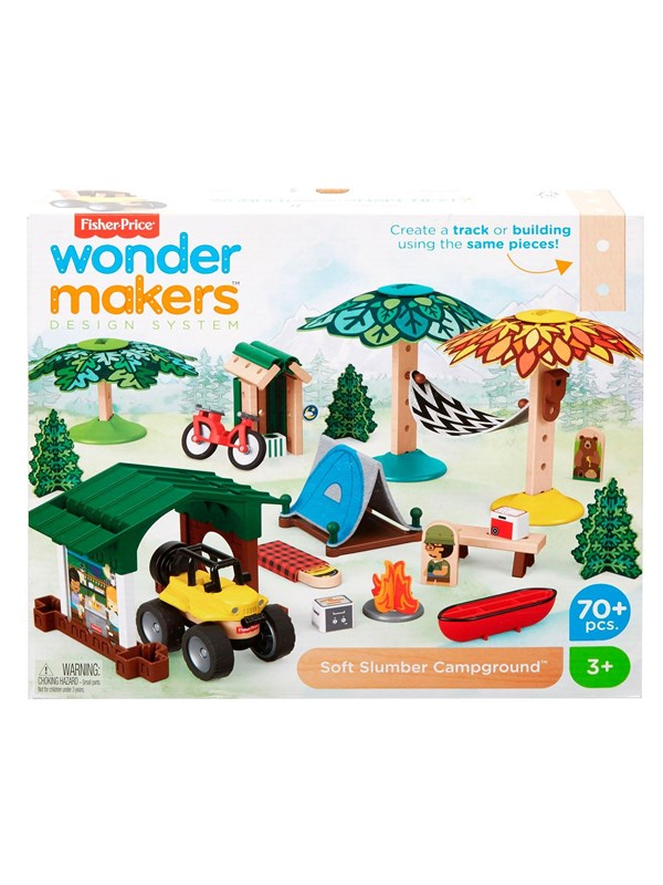 Image of   Fisher Price Wonder Makers - Camping site