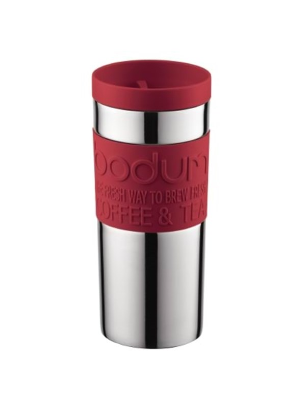 Image of   BODUM TRAVEL MUG - 0.35 l - red