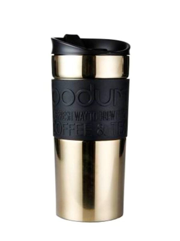 Image of   BODUM TRAVEL MUG - 0.35 l - gold