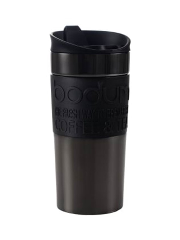 Image of   BODUM TRAVEL MUG - 0.35 l - gun metal