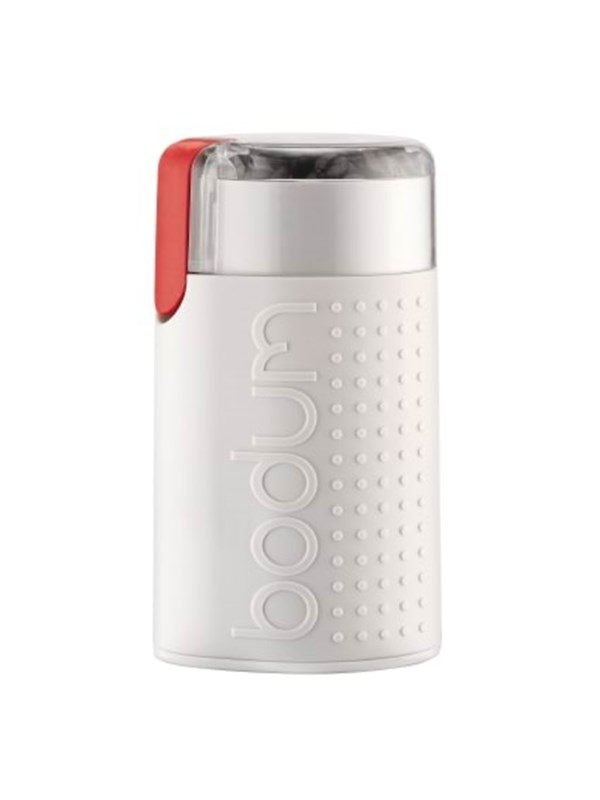 BODUM BISTRO Electric coffee grinder - white