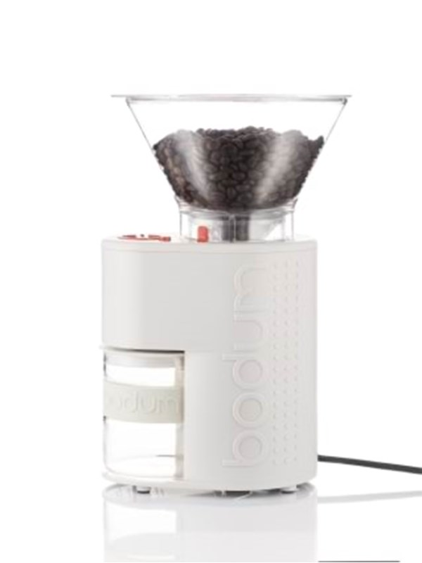 Image of   BODUM BISTRO Electric coffee grinder - white