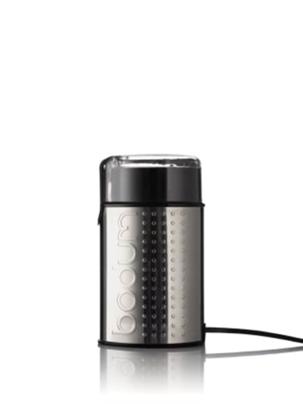 Image of   BODUM BISTRO electric coffee grinder - silver