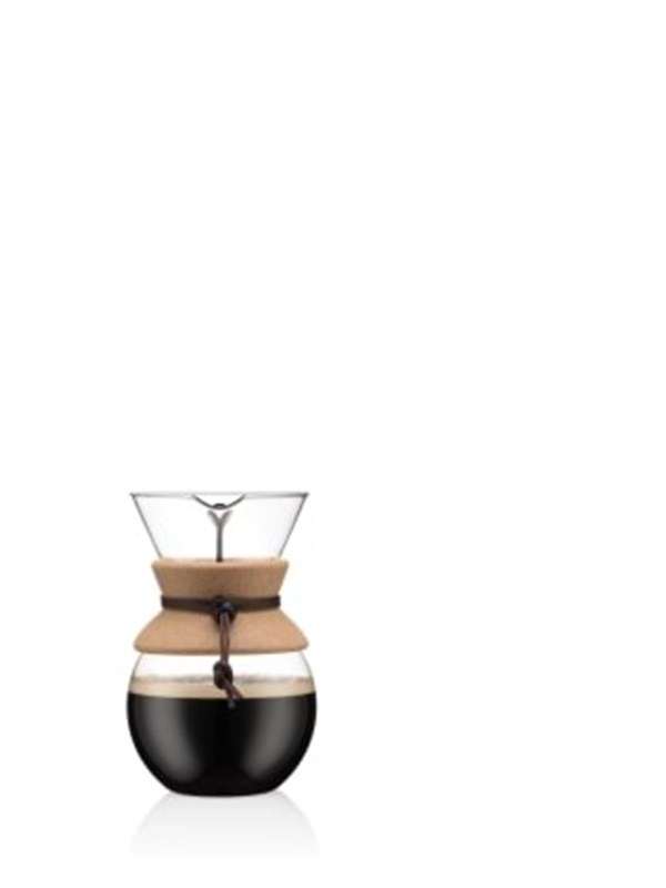 Image of   BODUM POUR OVER coffee maker - 1.0 l - cork