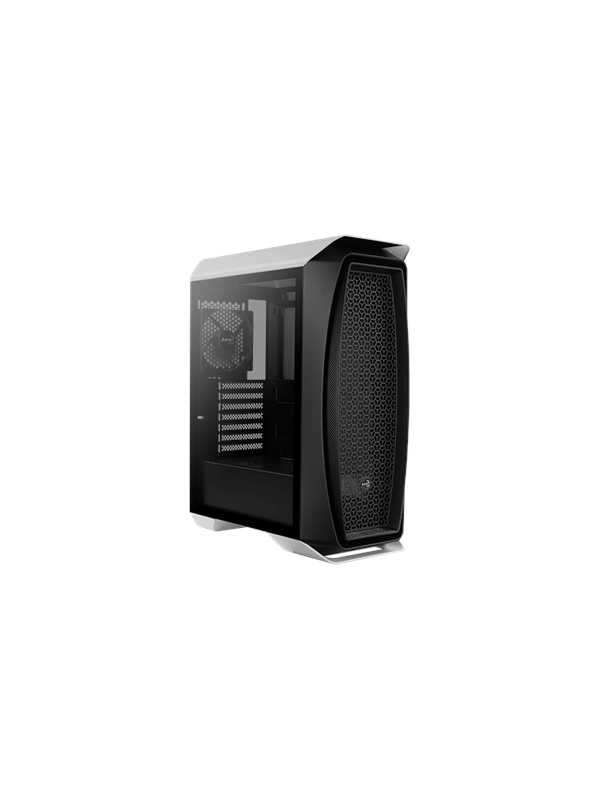 Image of   AeroCool Aero One - White - Kabinet - Miditower - Sort