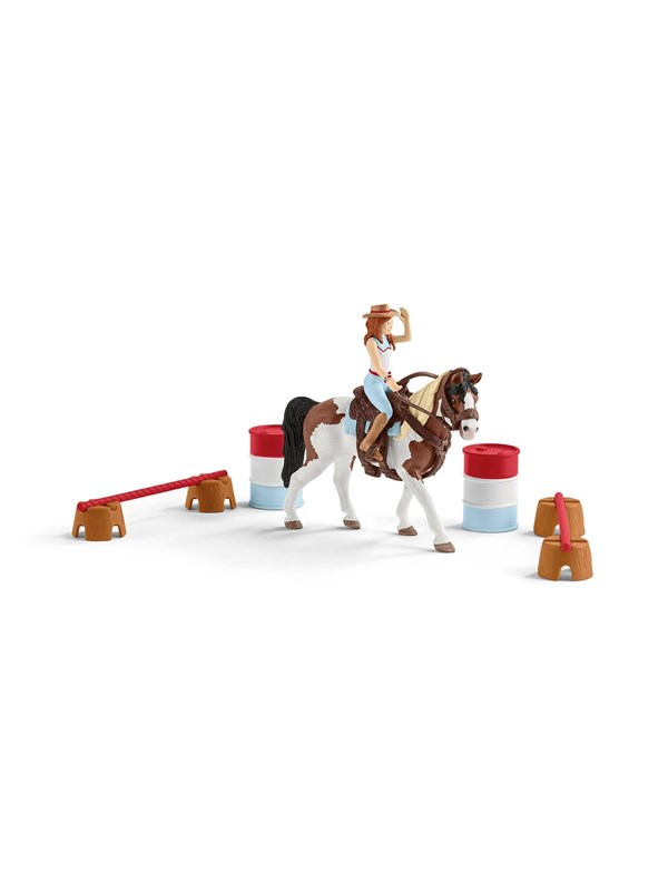 Image of   Schleich HC Hanna's west ridindg set