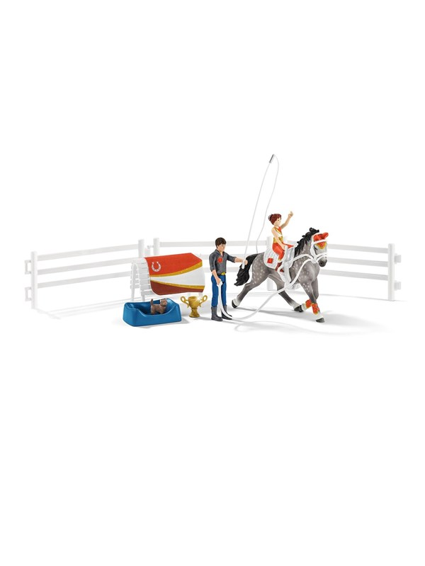 Image of   Schleich Horse Club Mia's vaulting set