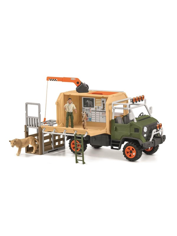 Image of   Schleich Animal Rescue Large Truck