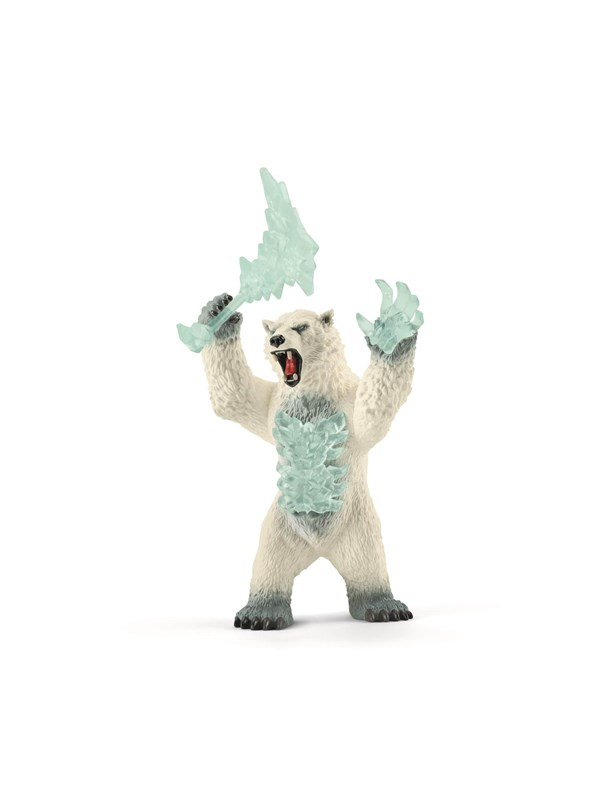 Image of   Schleich Blizzard bear with weapon