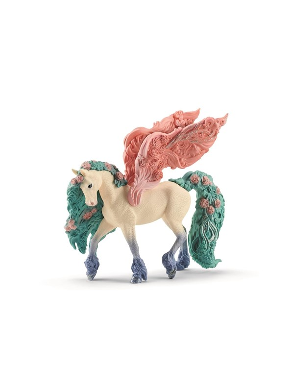 Image of   Schleich Flower Pegasus