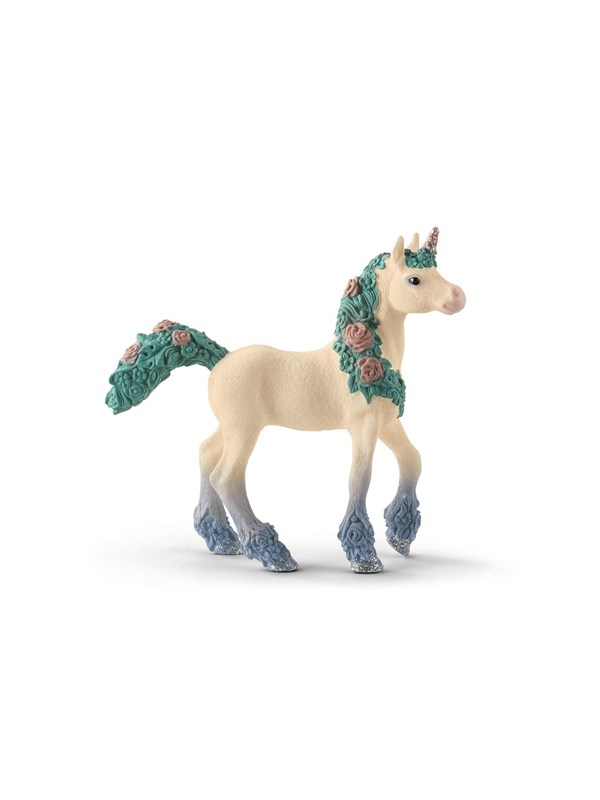 Image of   Schleich Flower Unicorn Foal