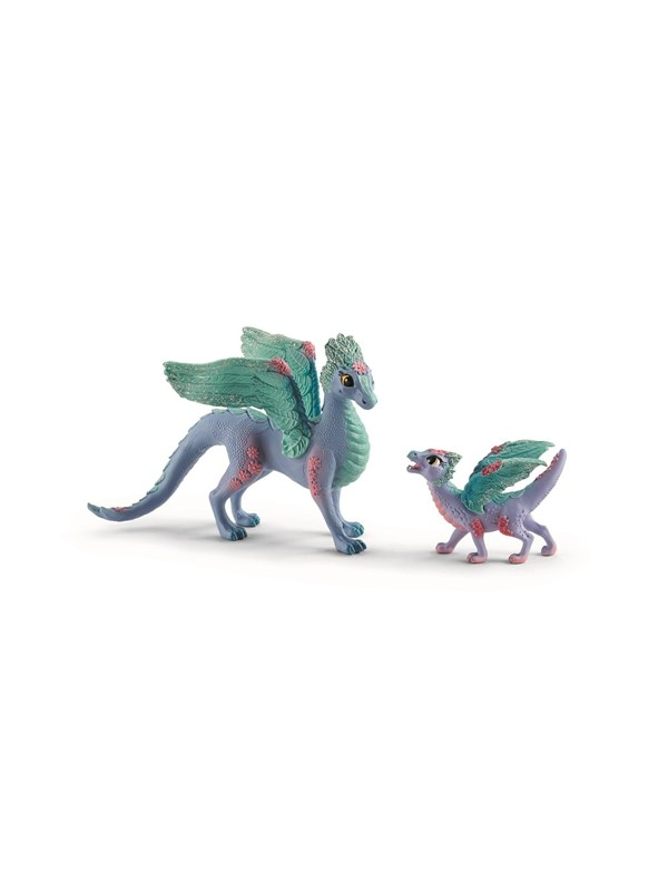 Image of   Schleich Flower Dragon and Baby