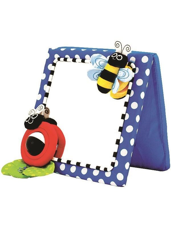 Image of   Sassy Crib & Floor Mirror