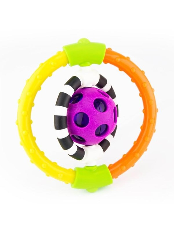 Image of   Sassy Spin & Chew Flexible Ring Rattle