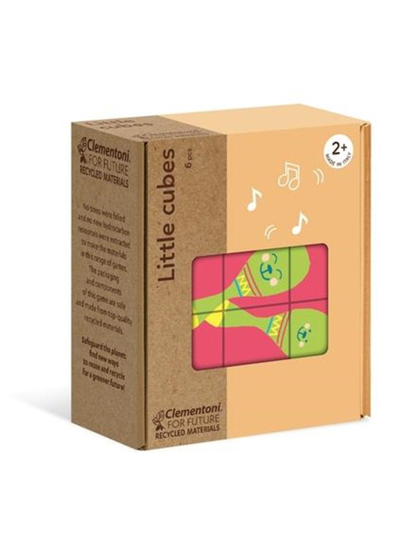 Image of   Clementoni Little Cubes: Objects
