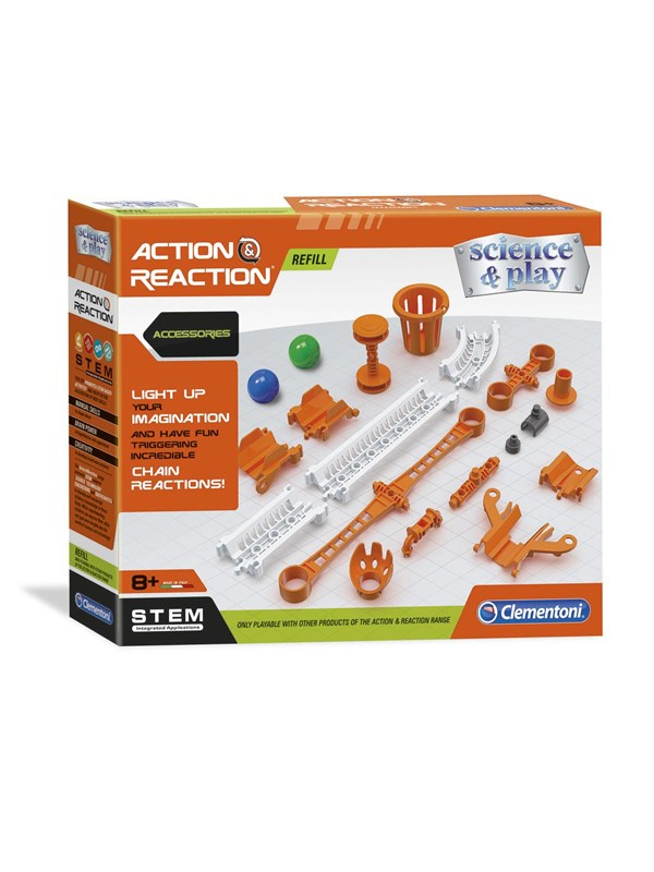 Image of   Clementoni Action & Reaction Accessories