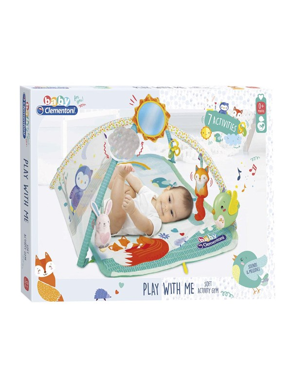 Image of   Clementoni First Month Play With Me Activity Gym - INT