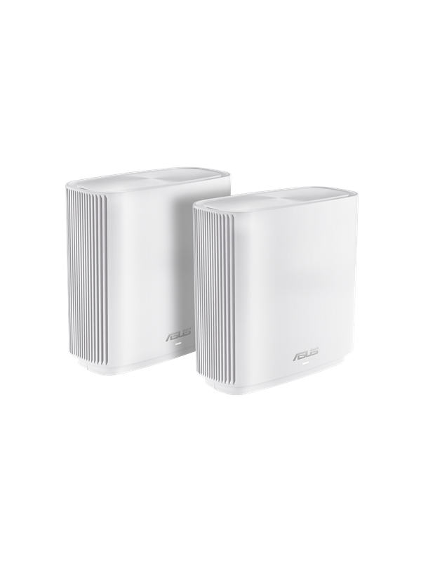 Image of   ASUS ZenWiFi CT8 AC3000 White (2-pack) - Mesh router AC Standard - 802.11ac