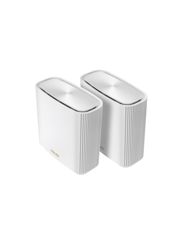 Image of   ASUS ZenWiFi XT8 AX6600 White (2-pack) - Mesh router 802.11a/b/g/n/ac/ax