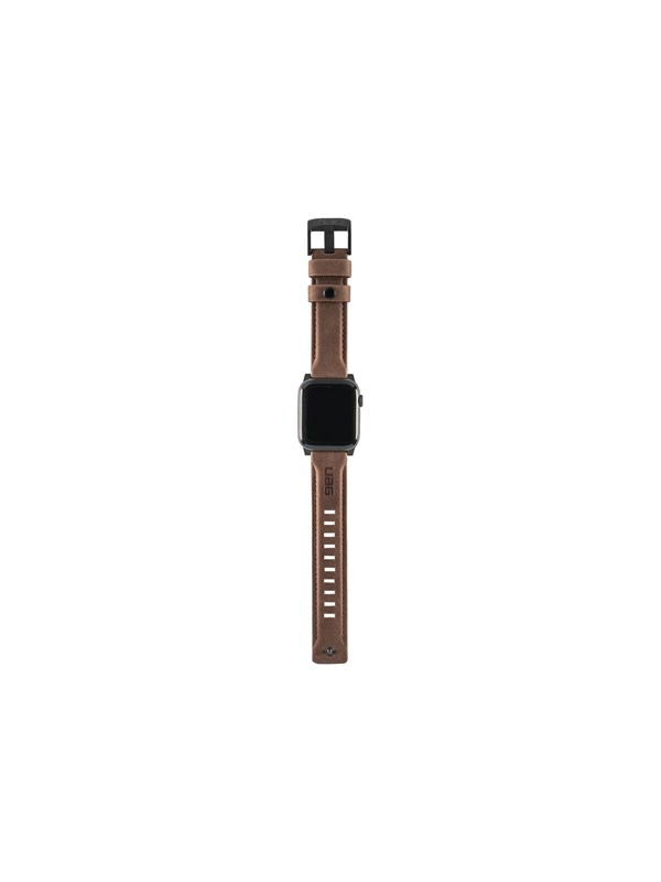 Image of   UAG Apple Watch Band 44mm 42mm Series 4/3/2/1 - Leather Brown